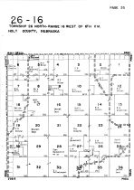 Township 26 North - Range 16 West, Holt County 1948